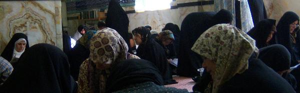 Iranian women studying