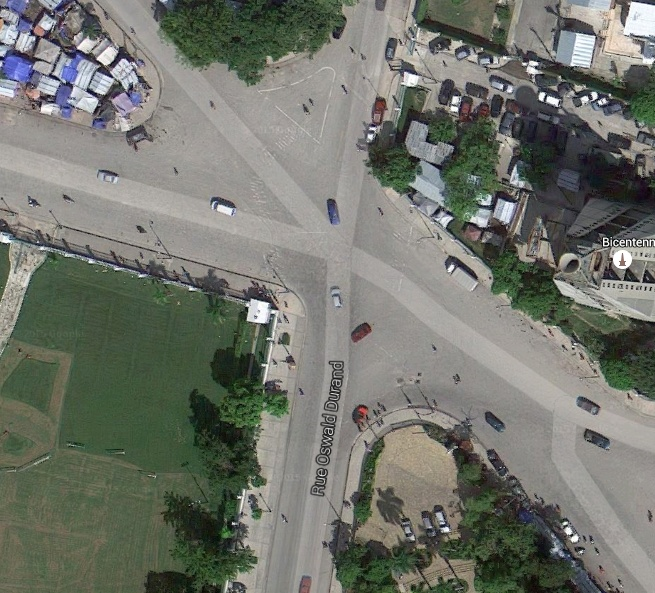aerial view of carrefour