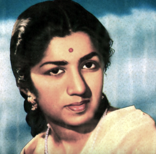 Lata Mangeshkar in 1955